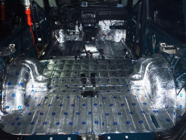 Как сделать шумоизоляцию автомобиля своими руками нива
