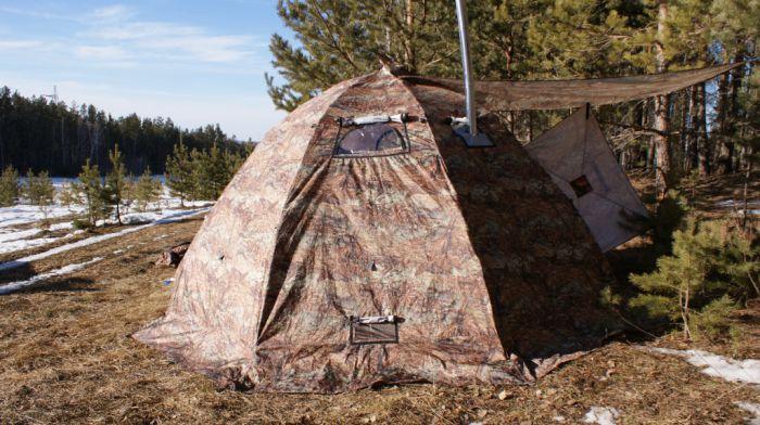 Продам палатку Бергег УП 2