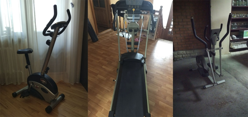 Прокат аренда Беговая дорожка Велотренажер Эллиптический тренажер.