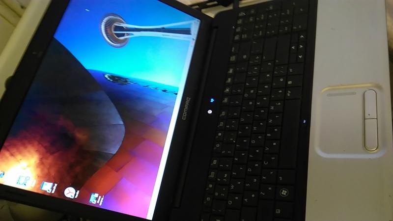 Ноутбук Compaq CQ61 2 ядра 2 Ghz 2 Gb 150 hdd 15,6 dvd cr wi-fi camera